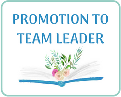 Promotion to Team Leader